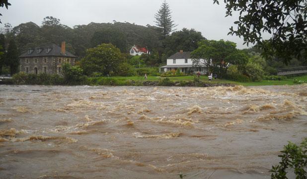 Нортленд: наводнение в Новой Зеландии