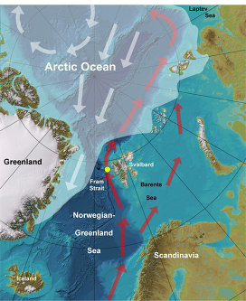Вода в Северной Атлантике нагрелась до двухтысячелетнего рекорда