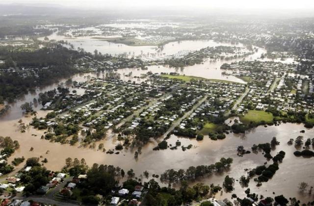 Австралия, наводнение