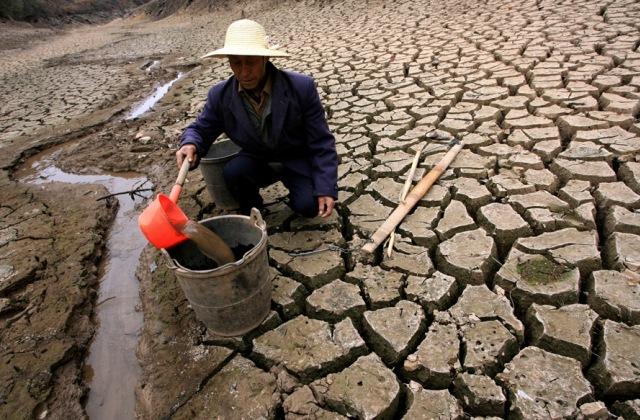 Китай, рекордная засуха