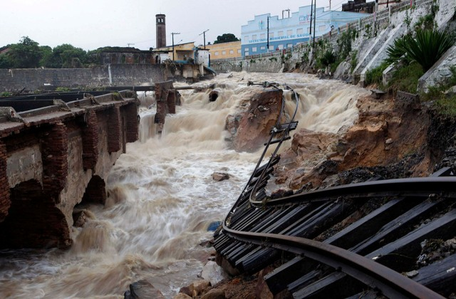 Бразилия: стихия бушует