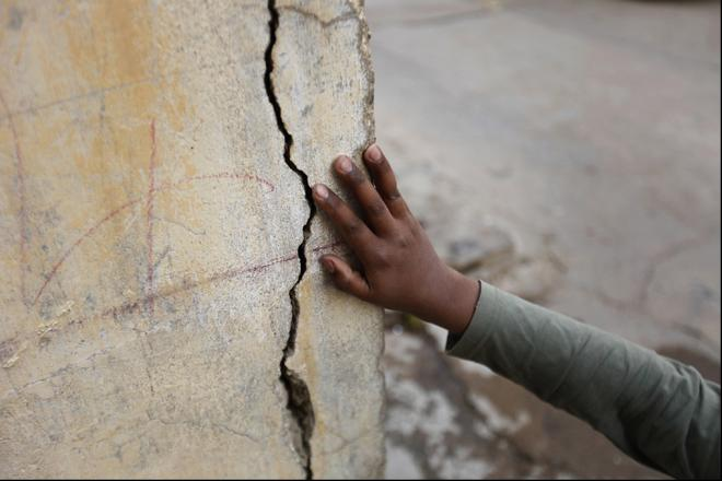 Землетрясение в Карачи