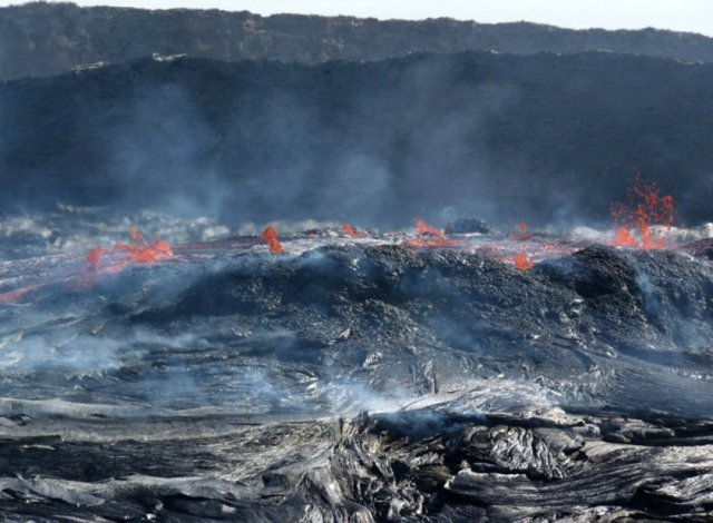 Африка: извержение вулкана Erta Ale