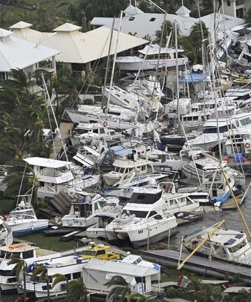 Последствия циклона Яси, Австралия
