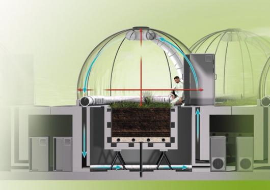 Центр Экотрон: так создают климат