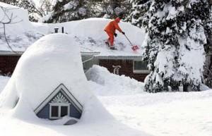 Снегопады в Грузии