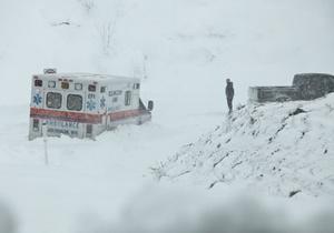 США: второй рекордный снегопад за месяц, 60 миллионов человек в зоне снежного шторма