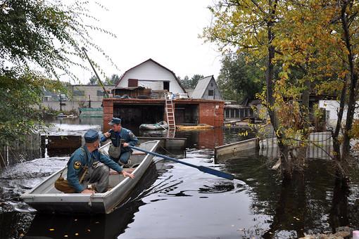 Наводнение в Комсомольске-на-Амуре