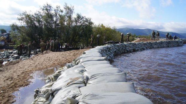 В пригороде Комсомольска-на-Амуре прорвало дамбу