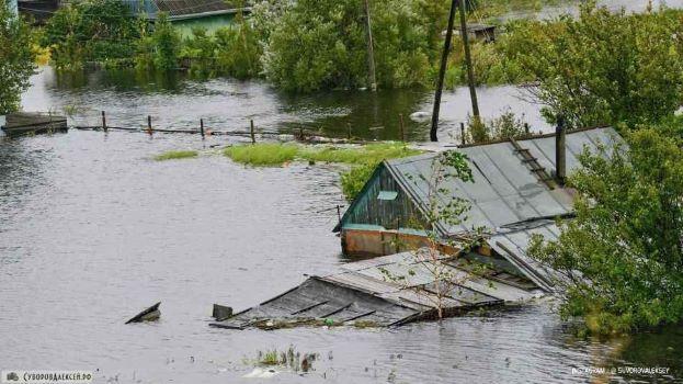 Аномальное наводнение на Дальнем Востоке