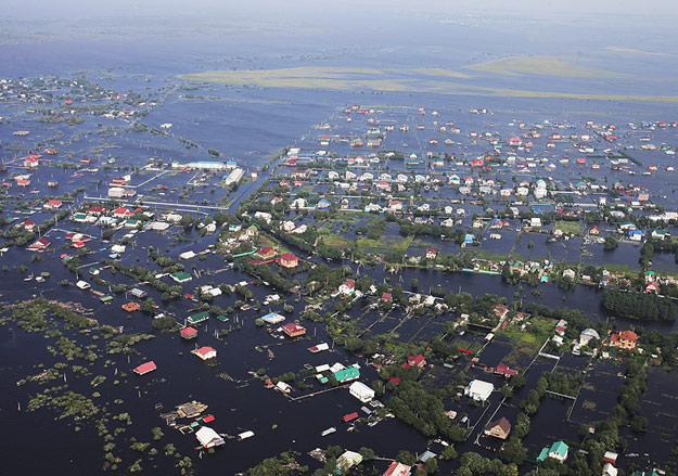 наводнение на дальнем востоке 2013 фото