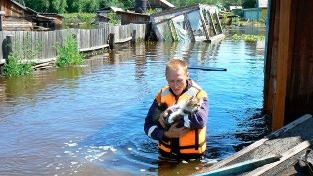 Причина аномального наводнения на Дальнем Востоке - глобальные изменения климата