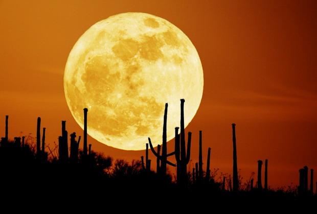 Предсказывание погоды по Луне