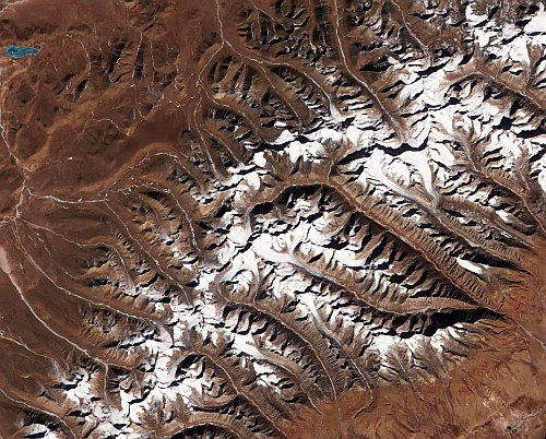 Тибетские ледники сокращаются в размерах
