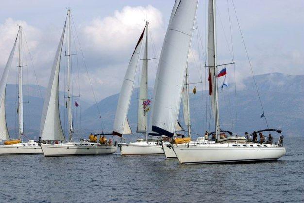 Пока климат позволяет: яхтинг в Греции