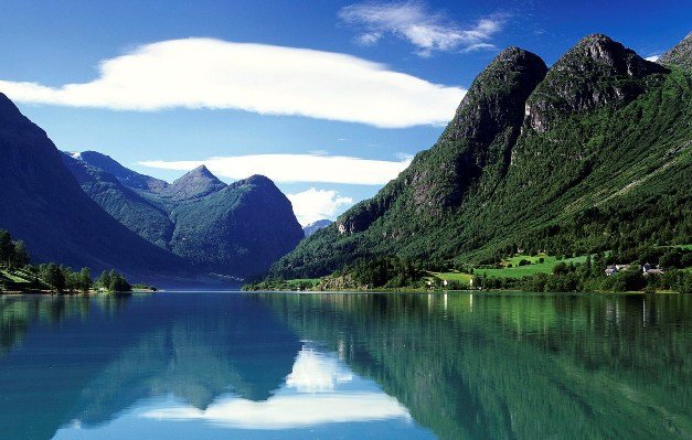 Удивительная природа Норвегии