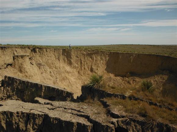 Канзас, США: гигантский провал грунта