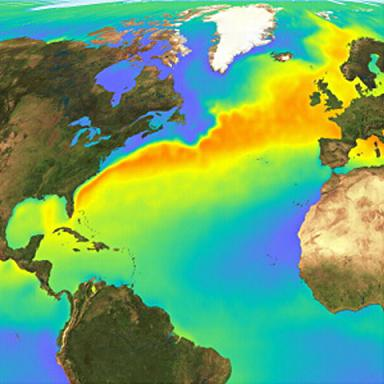 Погоду на планете портит нестабильный Гольфстрим