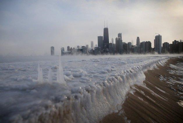 Зима 2014 в США