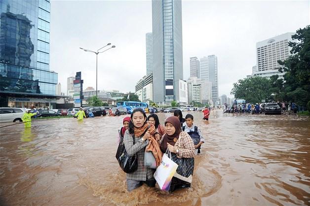 Джакарта, наводнение