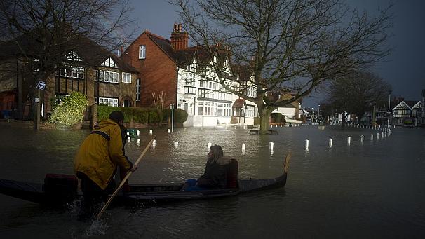 Великобритания, наводнение