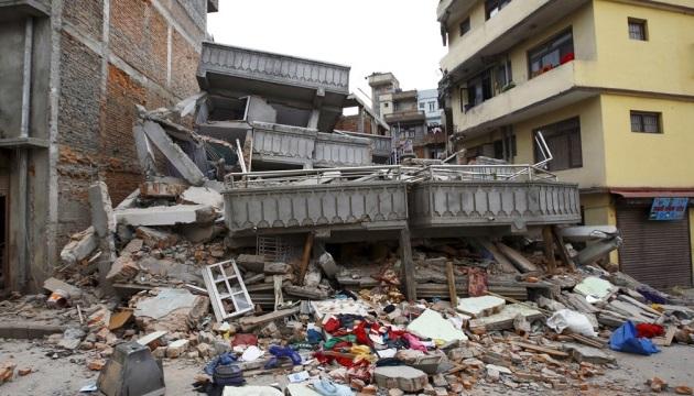 Непал, разрушения при землетрясении