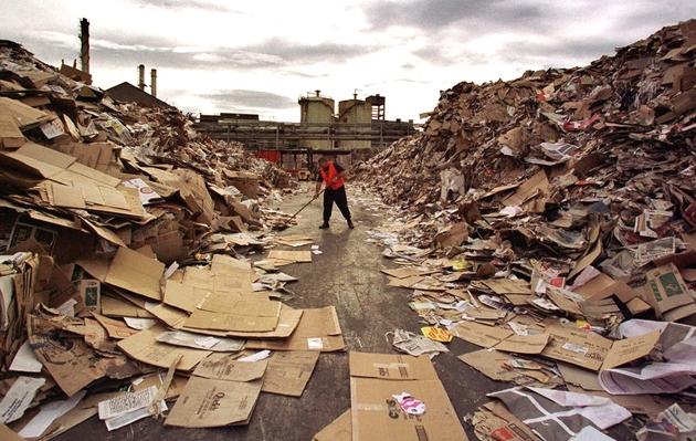Макулатура - не мусор, а сырье