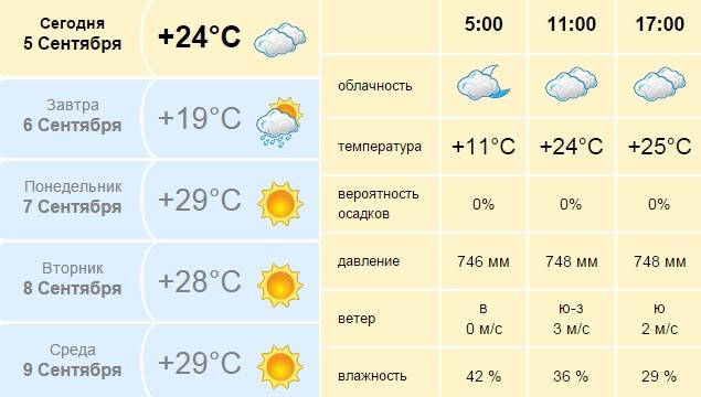 Погода в Новотроице