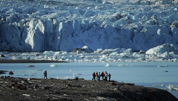 Выброс метана в Арктике