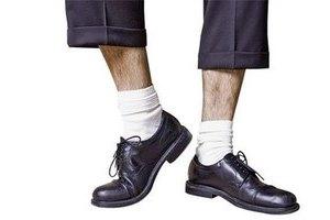 Белые носки в гардеробе
