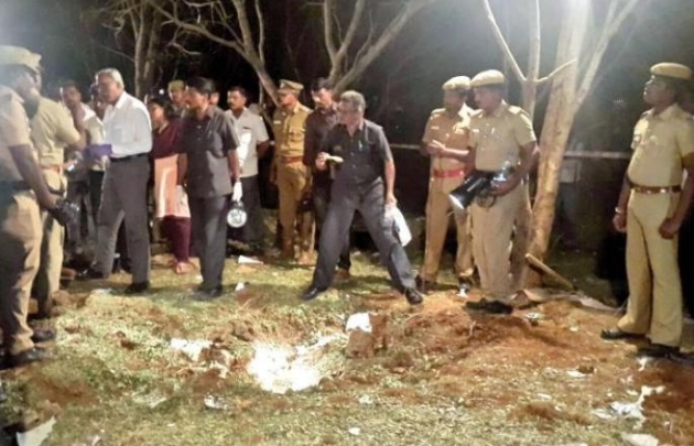 Падение метеорита в Индии