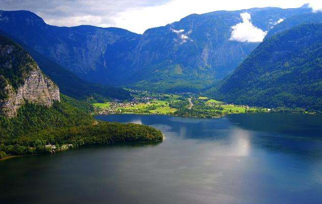 Австрия, Альпы