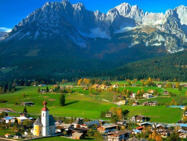Австрия - сердце Европы