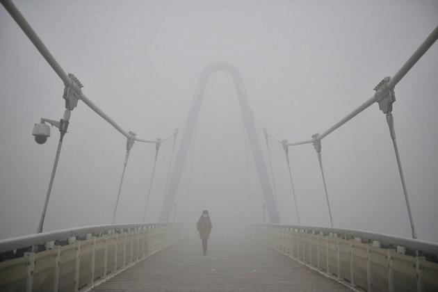 Высокий уровень смога сохраняется в Китае уже несколько лет