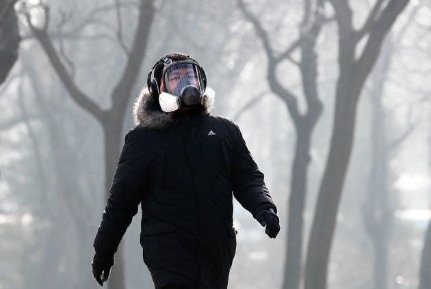Китай окутал токсичный смог