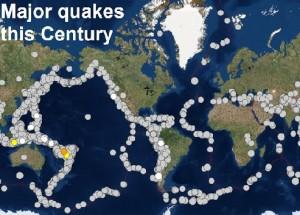 Землетрясения в начале 21 века