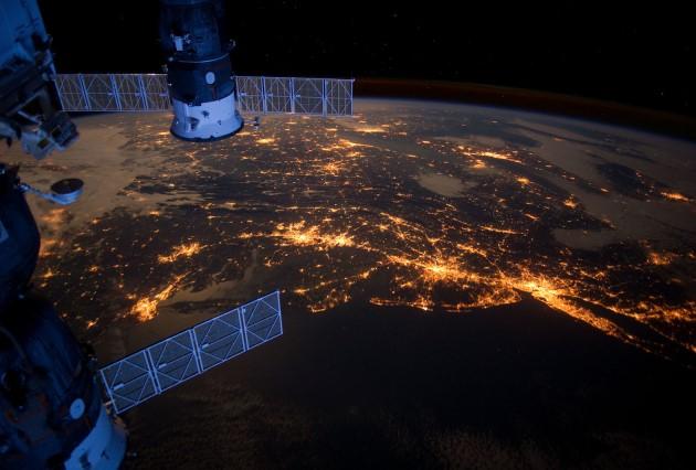 Рост светового загрязнения планеты
