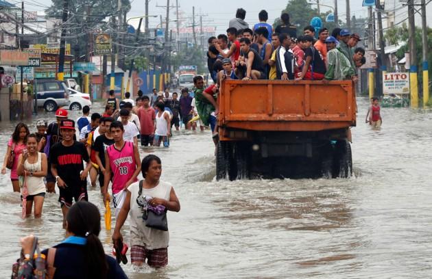 Филиппины неумолимо тонут