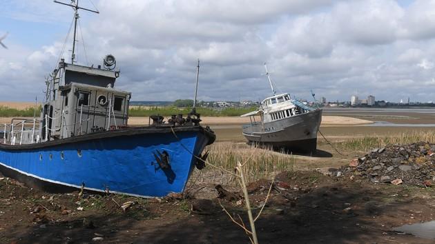Обмеление рек в России