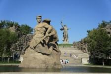 Волгоград, Мамаев Курган