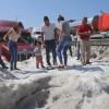 Мексику завалило снегом при 30-градусной жаре